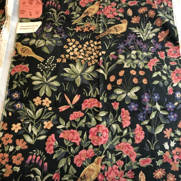 2 pieces of gorgeous vintage Greeff fabric